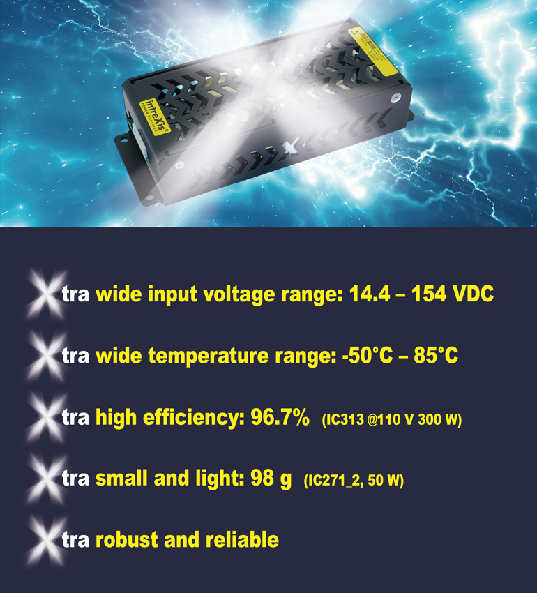 intreXis - Power Supplies with the X